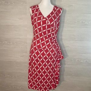 NWT White House Black Market Pink Dress